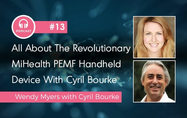 All about the revolutionary miHealth PEMF handlheld device - a supercharged podcast.