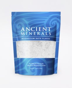 Ancient Minerals Magnesium Bath Flakes Original 1.65lb - for an immersive and relaxing full body or foot bath soak for effective detox support.