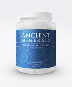 Ancient Minerals Magnesium Bath Flakes Original 4.4lb - for an immersive and relaxing full body or foot bath soak for effective detox support.