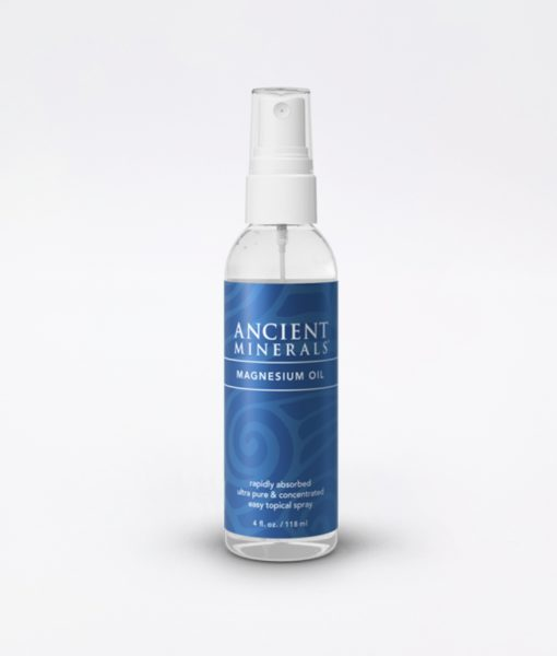 Ancient Minerals Magnesium Oil Original 4oz - #1 for better sleep, improved skin, increased energy levels, healthy joints, provides inflammation and stress relief, and aides in muscle recovery and detox support.