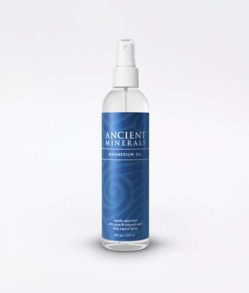Ancient Minerals Magnesium Oil Original 8oz - #1 for better sleep, improved skin, increased energy levels, healthy joints, provides inflammation and stress relief, and aides in muscle recovery and detox support.