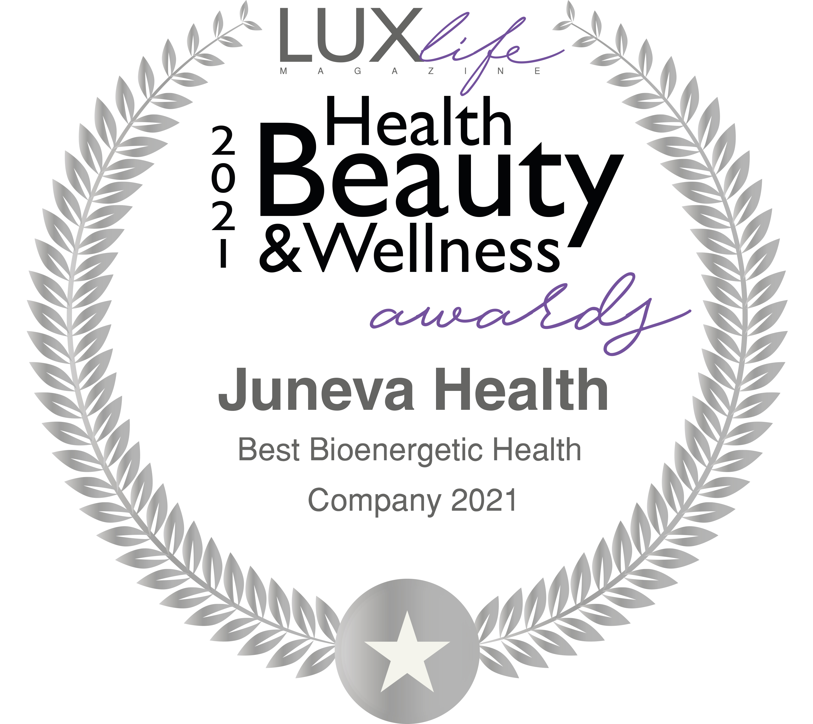Juneva receives a 2021 healthcare and pharmaceutical award from LUXlife magazine