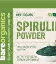 BareOrganics Spirulina Powder