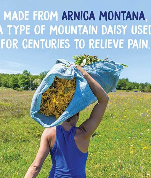 Boiron Arnica Cream - homeopathic remedy to relieve muscle pain and stiffness due to minor injuries, overexertion and falls, and, reduces pain, swelling and discoloration from bruises.