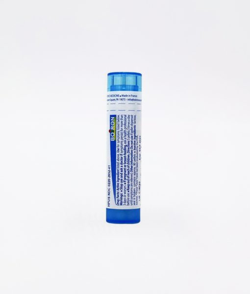 Boiron Influenzinum - homeopathic remedy to relieve after-effect of flu or flu-like symptoms, or to be used as homeoprophylaxis.