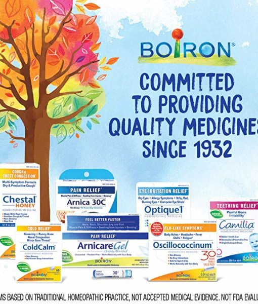 Boiron Sinusalia - homeopathic remedy to relieve nasal congestion, sinus pain and headache due to the common cold or allergies.