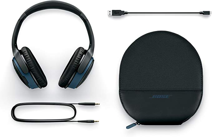 Bose SoundLink around ear wireless headphones II for exceptional sound, wireless freedom and uncompromised performance.