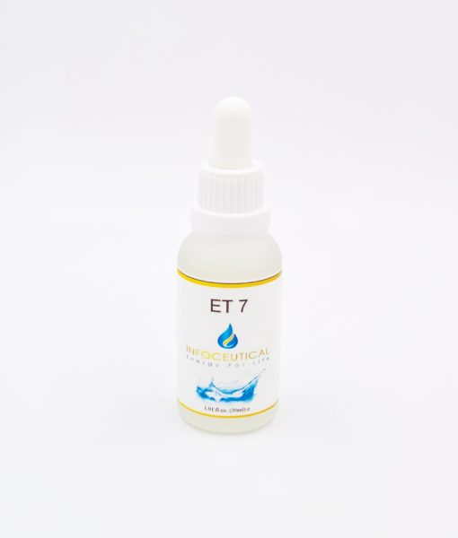 NES CFS Terrain (ET-7) Infoceutical - bioenergetic remedy for naturally restoring healthy mind body patterns, by removing energy blockages and correcting information distortions in the body field.