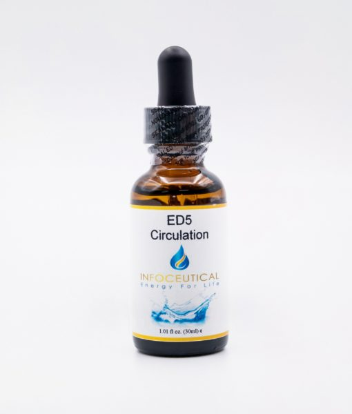 NES Circulation Driver (ED-5) Infoceutical - bioenergetic remedy for naturally restoring healthy mind body patterns, by removing energy blockages and correcting information distortions in the body field.