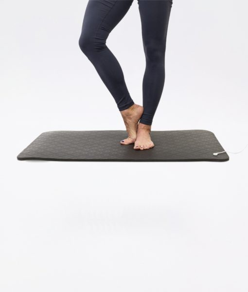 Dr Mercola Grounded Standing Floor Mat - connect yourself to the Earth's energies (grounding) while you move and exercise – or simply sit still.