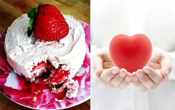 Dreamy Strawberry Shortcake - bioenergetic cooking recipe.