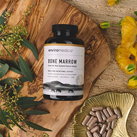 Enviromedica Pastured Bone Marrow is a nutritional powerhouse playing a fundamental role in supporting whole body nutrition, including bone, connective tissue, immune and cellular health.