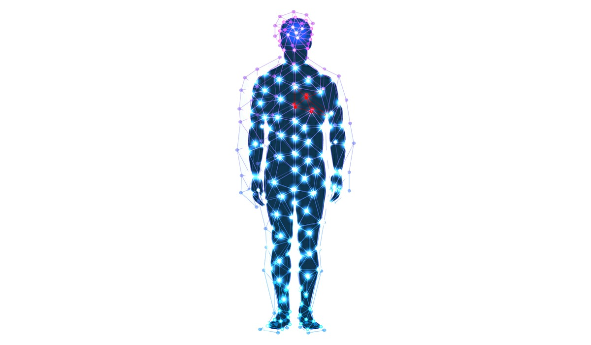 Explaining the human body-field - with NES body-field scan and therapy you can improve your well being and health right from the comfort of your home.
