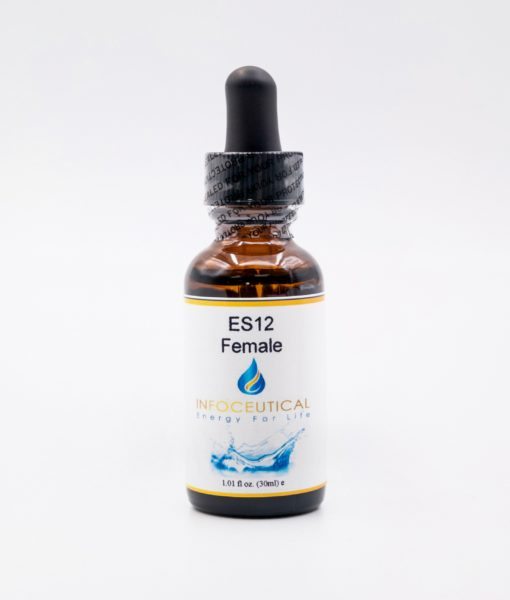NES Female Energy Star (ES-12) Infoceutical - bioenergetic remedy for naturally restoring healthy mind body patterns, by removing energy blockages and correcting information distortions in the body field.