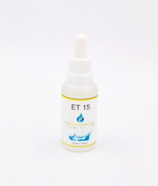 NES General Terrain (ET-15) Infoceutical - bioenergetic remedy for naturally restoring healthy mind body patterns, by removing energy blockages and correcting information distortions in the body field.