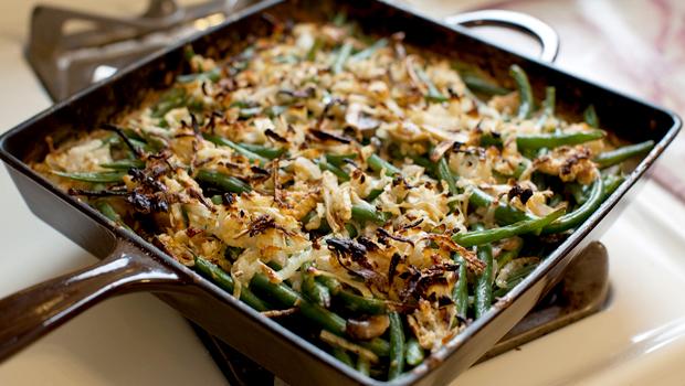 Green Bean Cassarole - bioenergetic cooking recipe.