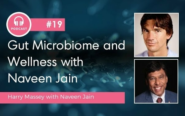 Gut microbiome and wellness - a supercharged podcast. Research shows microbiome, not genes, causes disease.