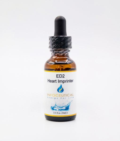 NES Heart Imprinter Driver (ED-2) Infoceutical - bioenergetic remedy for naturally restoring healthy mind body patterns, by removing energy blockages and correcting information distortions in the body field.