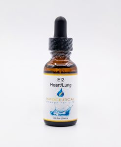 NES Heart/Lung Integrator (EI-2) Infoceutical - bioenergetic remedy for naturally restoring healthy mind body patterns, by removing energy blockages and correcting information distortions in the body field.