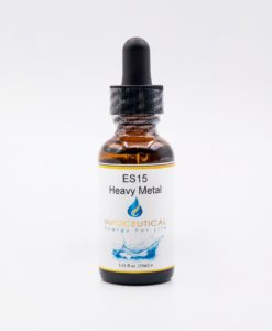 NES Heavy Metals/Bio-sodium Star (ES-15) Infoceutical - bioenergetic remedy for naturally restoring healthy mind body patterns, by removing energy blockages and correcting information distortions in the body field.