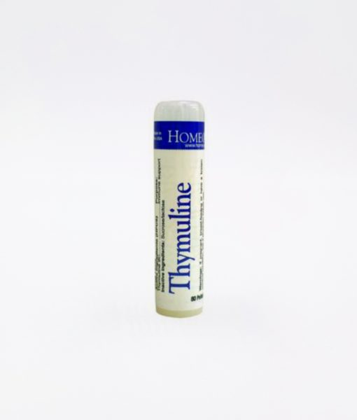 HomeoCare Thymuline - homeopathic remedy to promote immune system support, and boost boosts immunity during the change of seasons, periods of stress, and in case of slow or difficult recovery from illness.