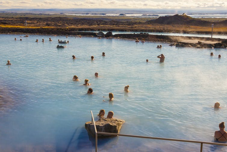 How a hot bath delivers some of the same effects as exercise.