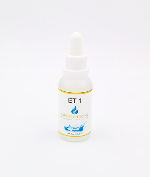 NES Immunity 1 Terrain (ET-1) Infoceutical - bioenergetic remedy for naturally restoring healthy mind body patterns, by removing energy blockages and correcting information distortions in the body field.
