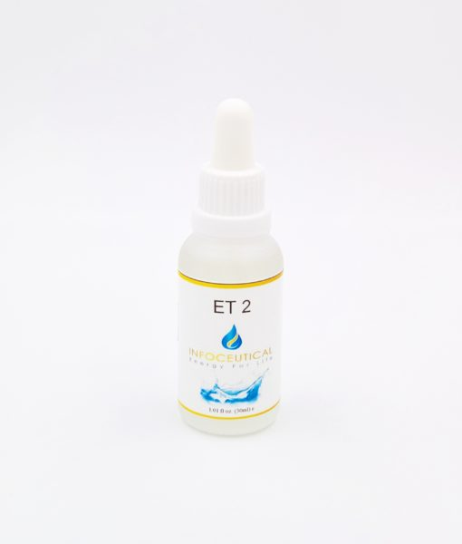 NES Immunity 2 Terrain (ET-2) Infoceutical - bioenergetic remedy for naturally restoring healthy mind body patterns, by removing energy blockages and correcting information distortions in the body field.