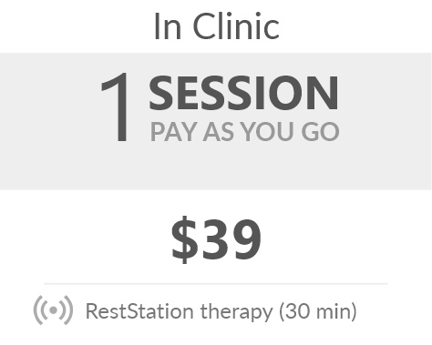 Juneva Health RestStation Session - vibroacoustic therapy (VAT) session that assists with relief from anxiety disorders, depression, PTSD, autism and learning difficulties, dementia, stress, pain, insomnia, and more.