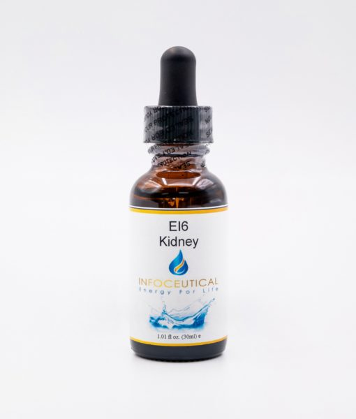 NES Kidney Integrator (EI-6) Infoceutical - bioenergetic remedy for naturally restoring healthy mind body patterns, by removing energy blockages and correcting information distortions in the body field.