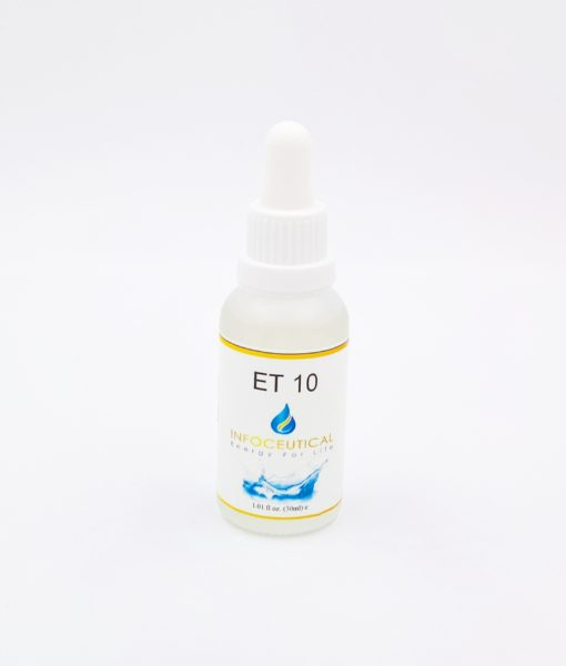 NES Liver 1 Terrain (ET-10) Infoceutical - bioenergetic remedy for naturally restoring healthy mind body patterns, by removing energy blockages and correcting information distortions in the body field.