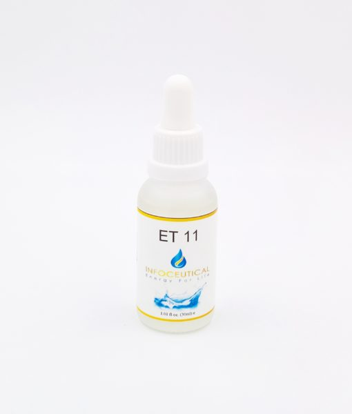 NES Liver 2 Terrain (ET-11) Infoceutical - bioenergetic remedy for naturally restoring healthy mind body patterns, by removing energy blockages and correcting information distortions in the body field.