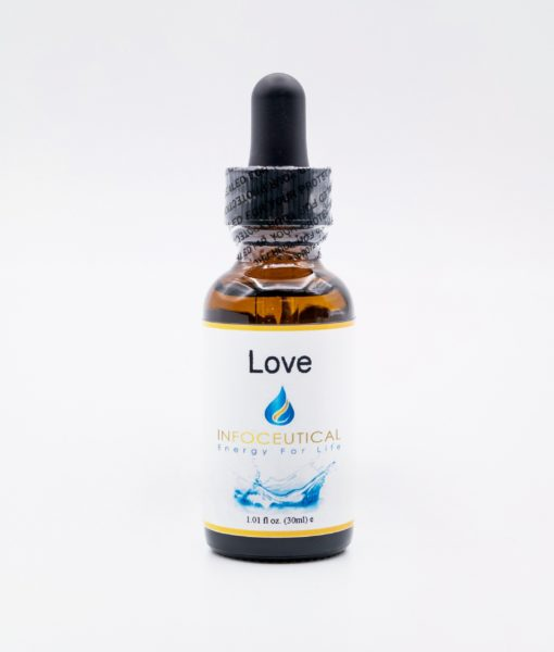 NES Love Infoceutical - bioenergetic remedy for naturally restoring healthy mind body patterns, by removing energy blockages and correcting information distortions in the body field.