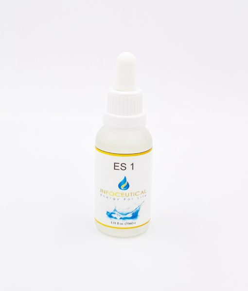 NES Lymph Immunity/Radiation Star (ES-1) Infoceutical - bioenergetic remedy for naturally restoring healthy mind body patterns, by removing energy blockages and correcting information distortions in the body field.