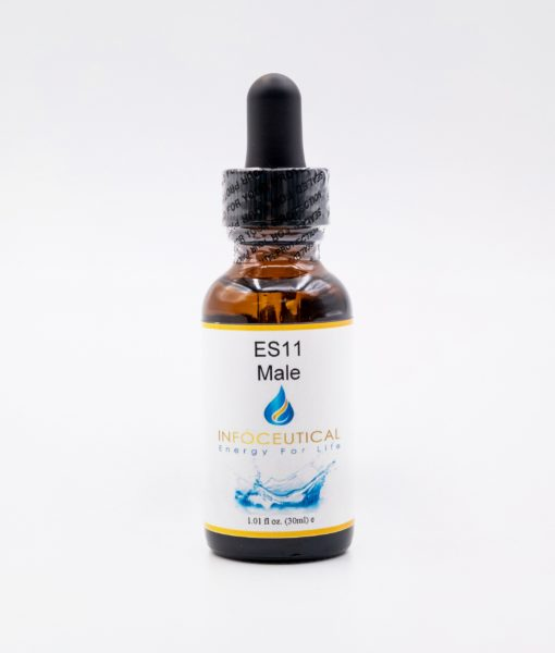 NES Male Energy Star (ES-11) Infoceutical - bioenergetic remedy for naturally restoring healthy mind body patterns, by removing energy blockages and correcting information distortions in the body field.