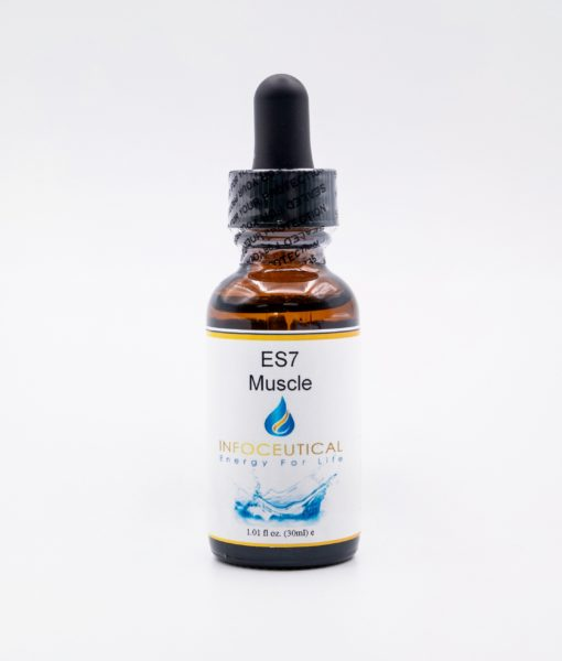 NES Muscle Enzyme Star (ES-7) Infoceutical - bioenergetic remedy for naturally restoring healthy mind body patterns, by removing energy blockages and correcting information distortions in the body field.
