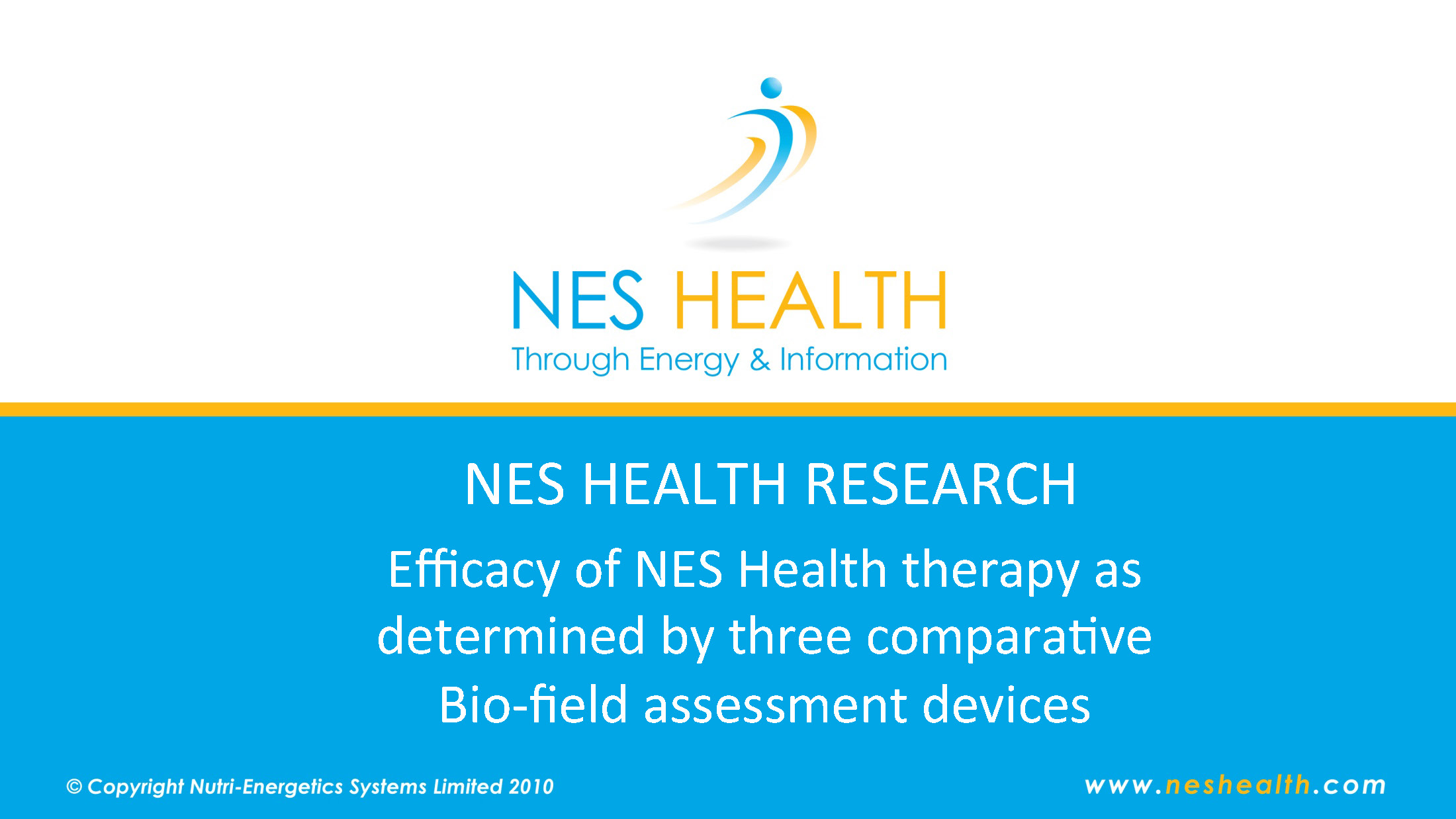 NES Health pune research - biofield assessment device.