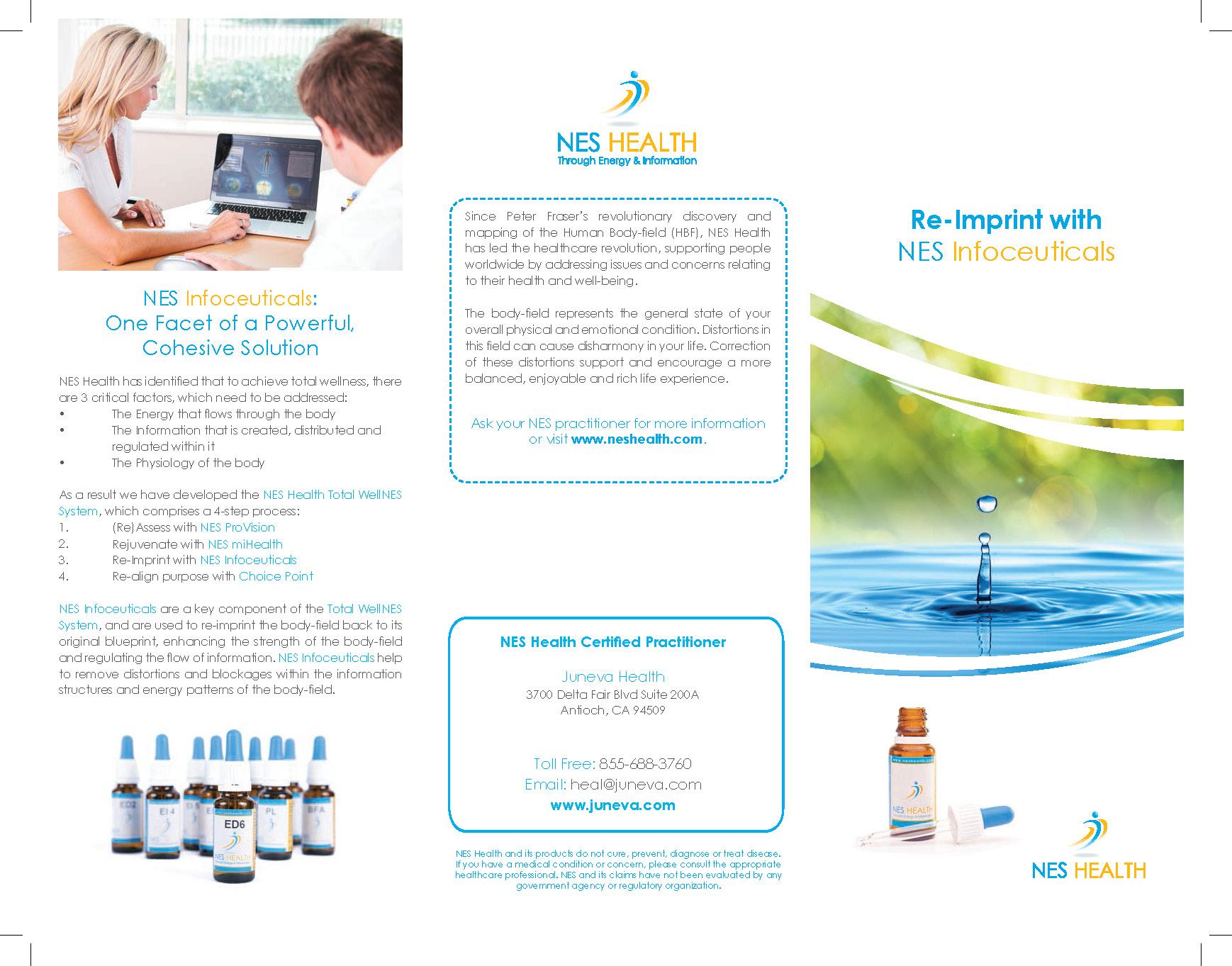 NES Infoceuticals brochure.