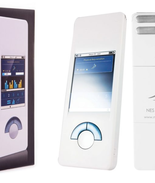 NES miHealth (for sale) - your personal bioenergetic health companion that incorporates PEMF therapy, body field scan and restoring healthy mind body pattern in a handheld, non-invasive biofeedback device.