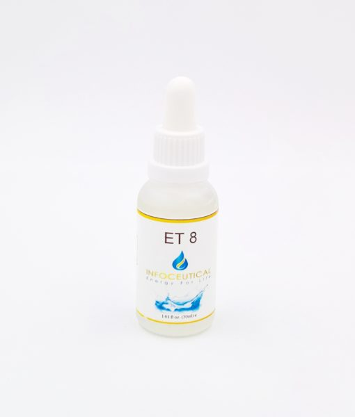 NES Neuro Terrain (ET-8) Infoceutical - bioenergetic remedy for naturally restoring healthy mind body patterns, by removing energy blockages and correcting information distortions in the body field.