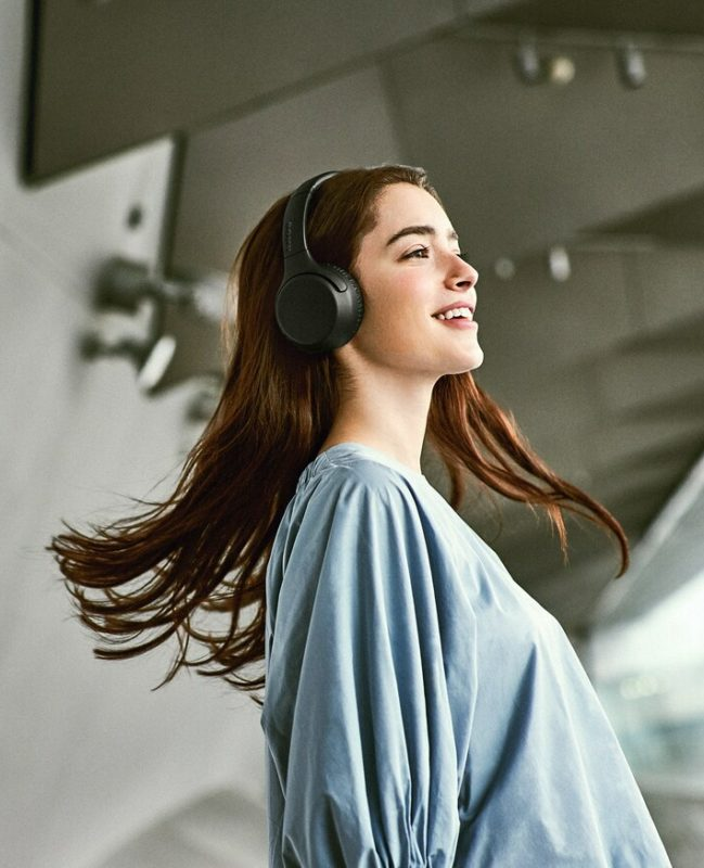 Sony WH-XB700 bluetooth wireless headphones technical specifications.