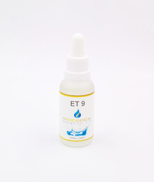 NES Stomach Terrain (ET-9) Infoceutical - bioenergetic remedy for naturally restoring healthy mind body patterns, by removing energy blockages and correcting information distortions in the body field.