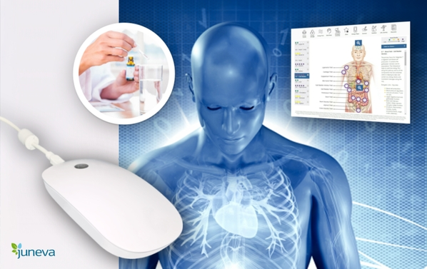 The future of wellness is here - NES body-field scan and therapy.