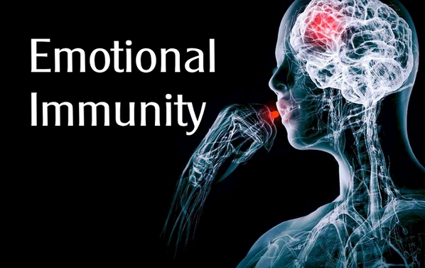 What is emotional immunity or the concept of the placebo effect?