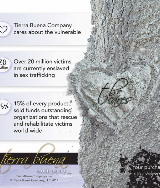 Facts about Tierra Buena company the creators of the #1 premium food grade edible Tierra Buena Pure Clay for effective detox support.