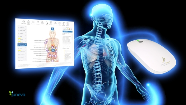 Wellness scan now mobile - NES body-field scan and therapy now with mobile scan on the go.