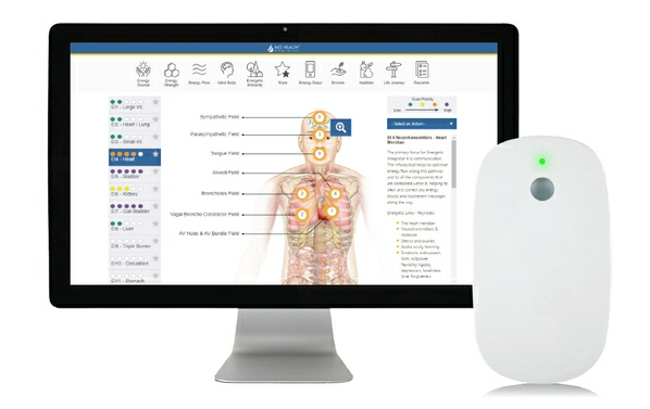Wellness scan mobile bundle - NES body-field scan and therapy now with mobile device support.