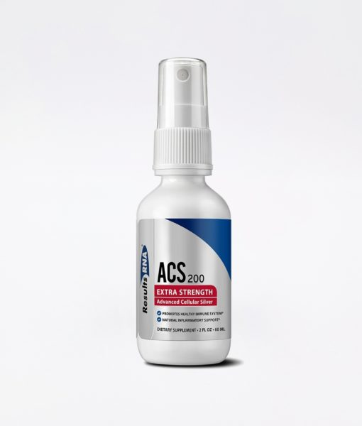 ACS 200 Silver Extra Strength 2oz - #1 advanced cellular silver promoting healthy immune system and natural inflammatory support.