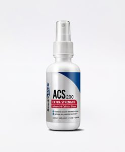 ACS 200 Silver Extra Strength 4oz - #1 advanced cellular silver promoting healthy immune system and natural inflammatory support.