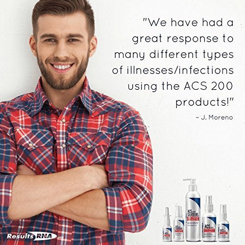 Great response to many types of illnesses and infections using the ACS 200 products.